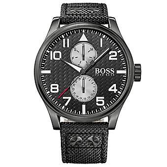 Hugo Boss 1513086  Analogue Display and Nylon Strap Quartz Men's Watch