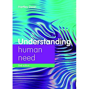 Understanding Human Need by Hartley Dean - 9781447341987 Book