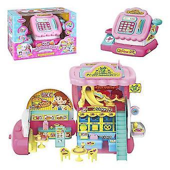 Toy Cash Register الوجبات السريعة مطعم Juinsa (32 سم)