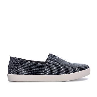 Men's Toms Yarn Slip On Espadrille Shoes in Grey