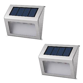 YANGFAN Solar Staircase Lamp 10x8.3x2.3cm