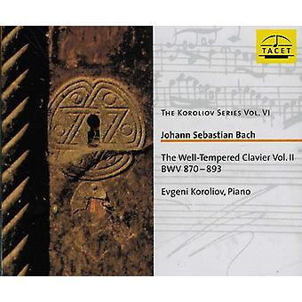 J.S. Bach - Bach: Well-Tempered Klavier, Book 2 [CD] USA import
