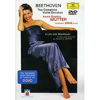 Anne-Sophie Mutter - Plays Beethoven: Comp Son Vn [DVD] USA import