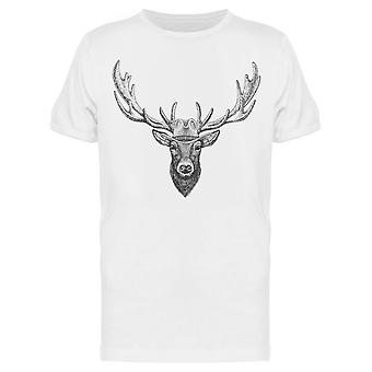 White Tailed Deer Tee Men's -Bild von Shutterstock