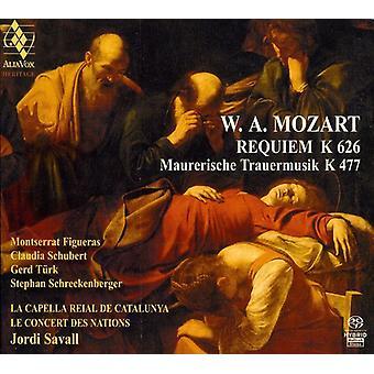 W.a. Mozart - Mozart: Requiem; Maurerische Trauermusik [SACD] USA import