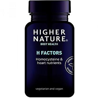 Higher Nature H Factors Vegetable Capsules 180 (HHH180)