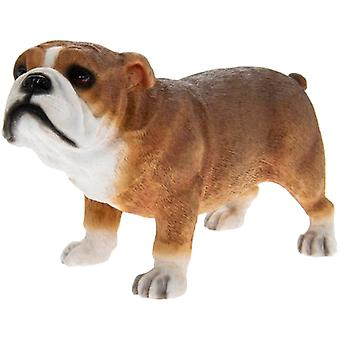 Brown Bulldog Figurine