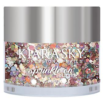 Kiara Sky Sprinkle On 3D Nail Glitters - Boss B 28g (SP244)