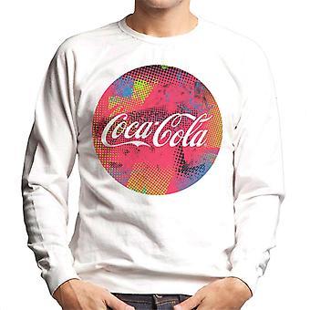 Coca Cola pyöreä Pisteet logo miesten ' s College pusero