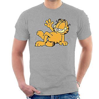 Garfield Lazy Wave miesten ' s T-paita
