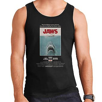 Jaws Movie Poster Men's Vest