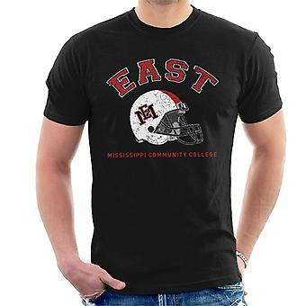 East Mississippi Community College Light Helmet Men's T-Shirt