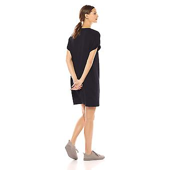 Brand - Daily Ritual Women's Supersoft Terry Deep V-Neck Roll-Sleeve H...