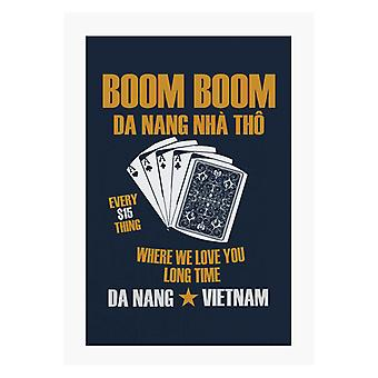 Full Metal Jacket Boom Boom Da Nang Me Love You Long Time A4 Tulosta