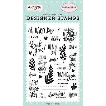 Carta Bella Happy Happy Day Klare frimærker