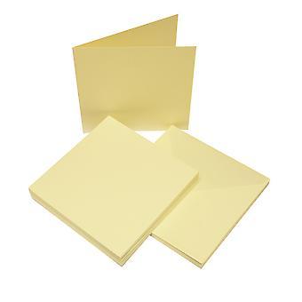 Craft UK Cards & Envelopes 6x6 Inch Ivory