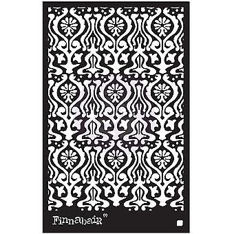 フィンナベア オリエンタル ウォール 6x9 インチ ステンシル