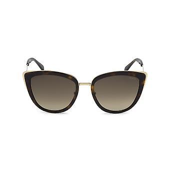 Emilio Pucci - accessoires - zonnebrillen - EP0092_52F - dames - zadelbruin, goud