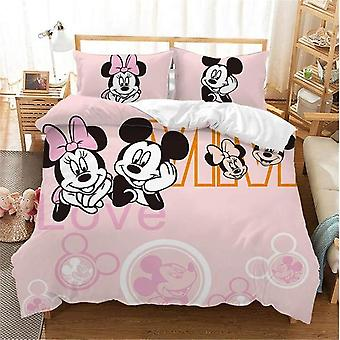 Disney Black And White Mickey Minnie Mouse Bedding Sets &