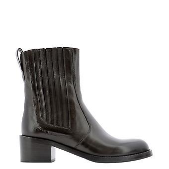 Guglielmo Rotta 5835dtoledoebony Women's Brown Leather Ankle Boots
