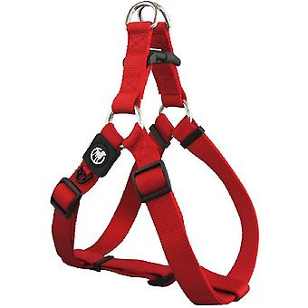 Rosewood Classic Soft Protection Nylon Harness - Red - Extra Small