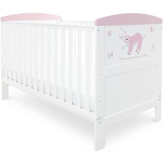 Babyhoot Coleby Style Cot Bed & Foam patja