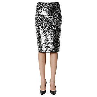 Michael von Michael Kors Mf97ezxcje033 Frauen's Leopard Polyester Rock