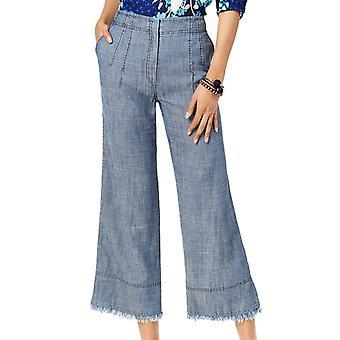 Trina Turk | Cropped Wide-Leg Pants