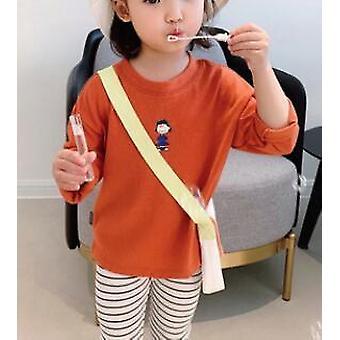 Cartoon Style Shirt Fashion Base Kids Blouse Clothes