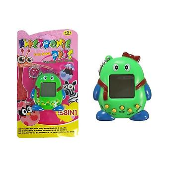 Tamagotchi Electronical Animal Egg Green with bow tie