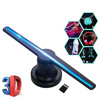 Wifi/plug-in 3d Hologram Projector, Light Advertising Display Led-fan