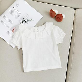 Baby Shirt Pamut, rövid ujjú blúz - Nyári Kids Shirt
