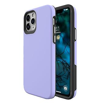Für iPhone 12 Pro/12 Gehäuse, stoßfeste Schutzhülle lila