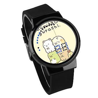 Impermeable Luminoso LED Digital Touch Reloj niños - Sumikkogurashi #44