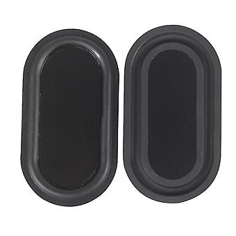 2pcs Of Rubber Bass Radiator Vibration Membrane For  Low Frequency Subwoofer