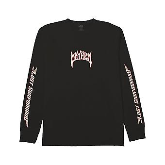 Lost Lost Boards Long Sleeve T-Shirt in Black