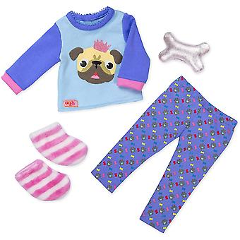 Our Generation - Pug-Jama Party Dolls Outfit