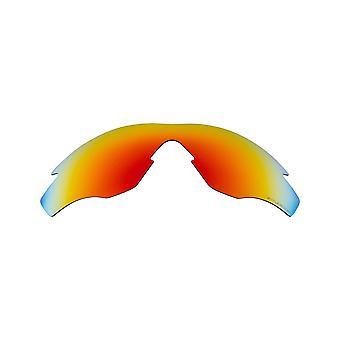 Polariserade ersättningslinser för Oakley M2 Frame Solglasögon Anti-Scratch Red