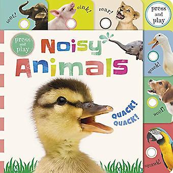 Press and Play Noisy Animals [Livre de bord]