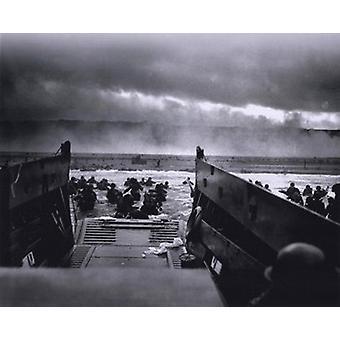 Le matin du 6 juin 1944 (jour j) à Omaha Beach (#1) Sports Photo (10 x 8)