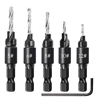 Countersink Drill Woodworking Drill Bit Set