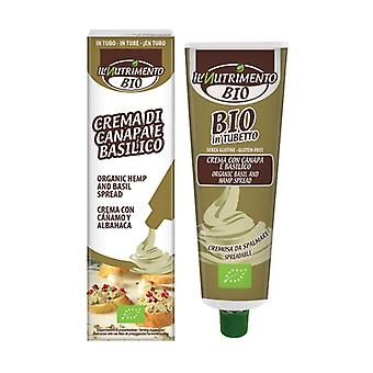 Hemp and basil cream - tube packaging 150 g