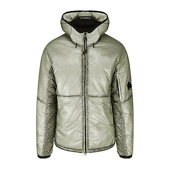 C.p. company men's quiet grey outline primaloft lens jacket
