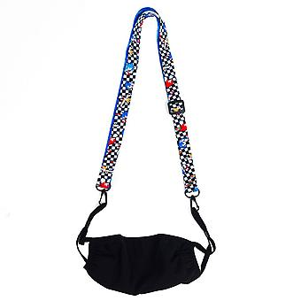 Sonic The Hedgehog Face Cover Lanyard