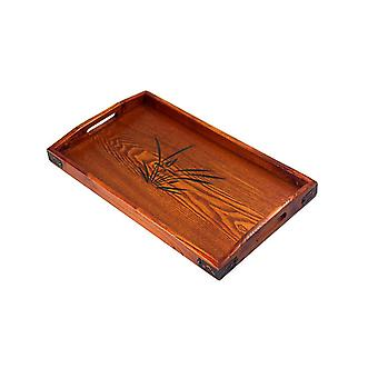 Large wooden Cutting Board with Handle Reversible, Serving Platter Cheese Board