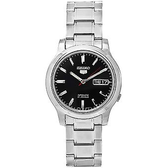 Seiko 5 Gent Watch SNK795K1 - Analogue automatique Gents en acier inoxydable