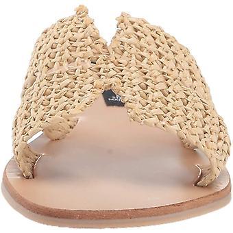 STEVEN by Steve Madden Women's Greece Sandal, Natural Multi, 9.5 M US