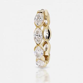 Korvakorut Markiisi Clipper, 18K kulta ja timantit