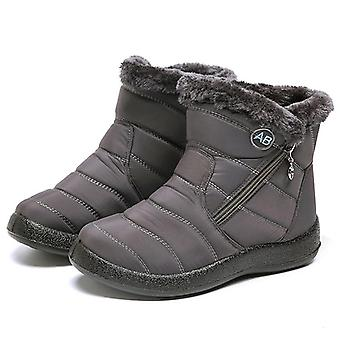 Fashion Waterproof Winter Casual Lightweight Ankle Snow Boots