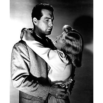 Double Indemnity Fred Macmurray Barbara Stanwyck 1944 Photo Print